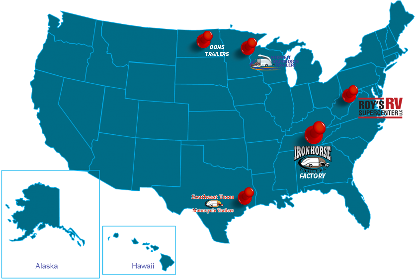 Ironhorse dealers in the USA